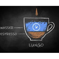 Espresso Lungo Infografik