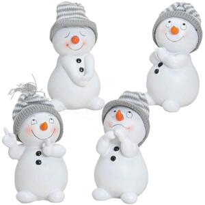 Weihnachtsfiguren Schneemänner
