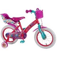 Trolls Fahrrad, mit und ohne Stützräder
