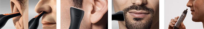 Nasenhaartrimmer Anwendungsmöglichkeiten