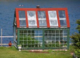 Gewächshaus für den eigenen Gemüseanbau