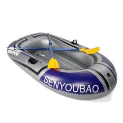 Kleines Schlauchboot zum Aufpusten