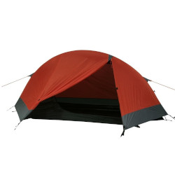 rotes Zelt für eine Person