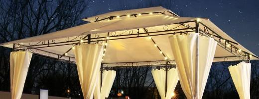 Pavillons und Partyzelte