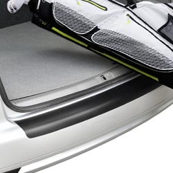 Autoladekante mit Lackschutzfolie