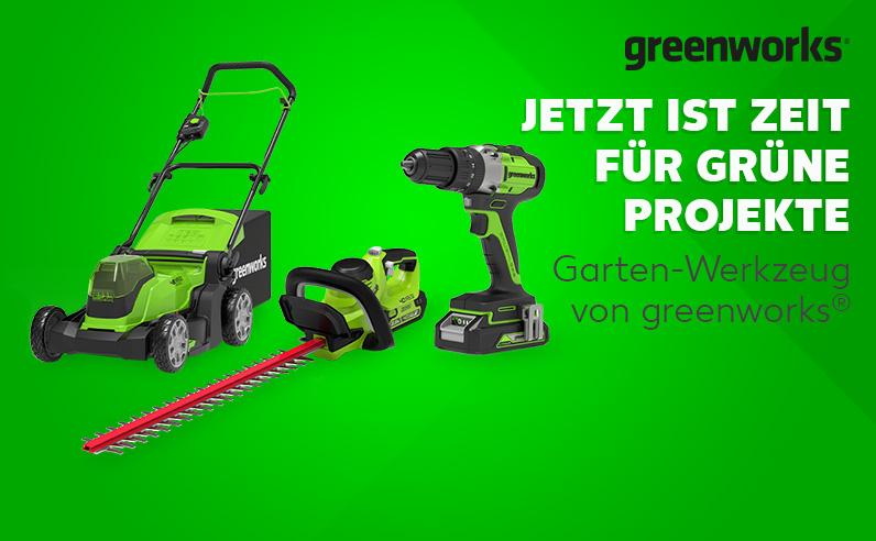 Alle greenworks-Deals