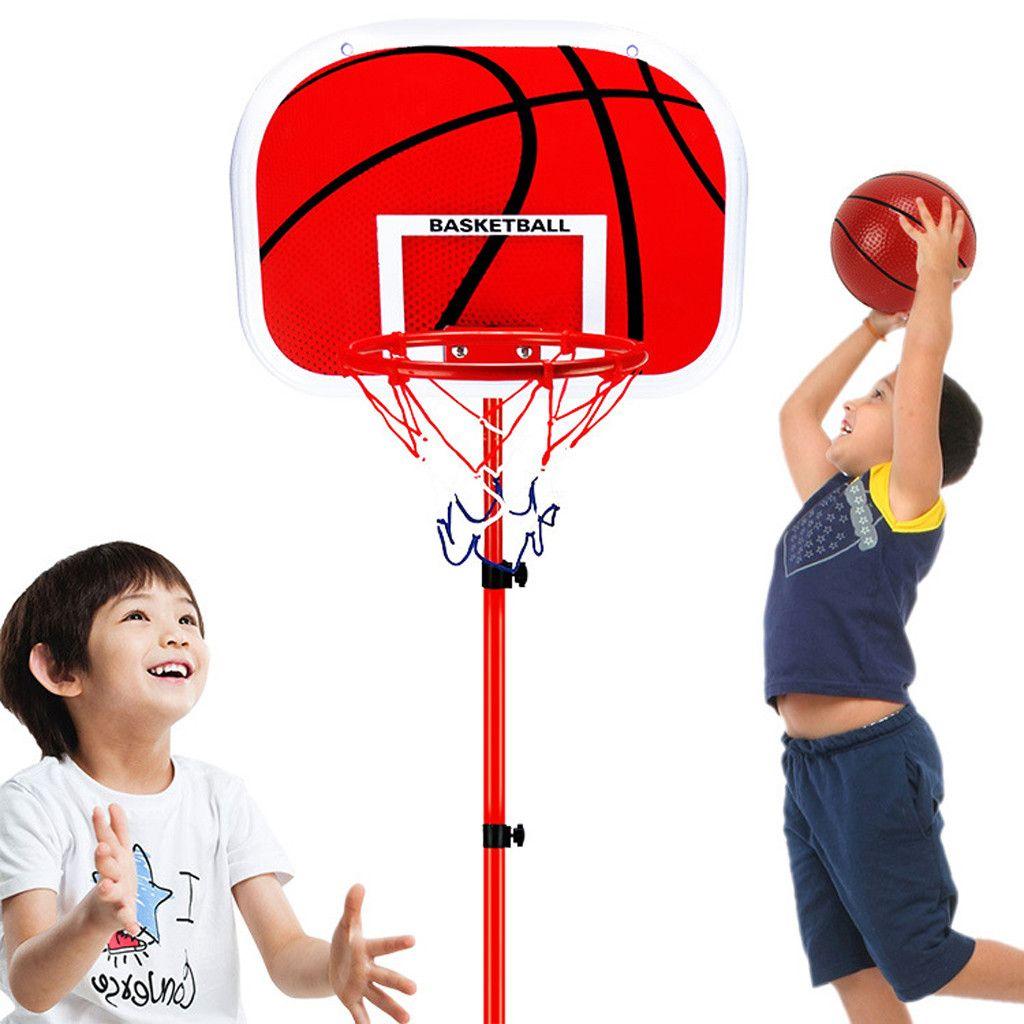 Pumpe Ball Set Basketballständer Basketballkorb Basketballanlage 63-150cm