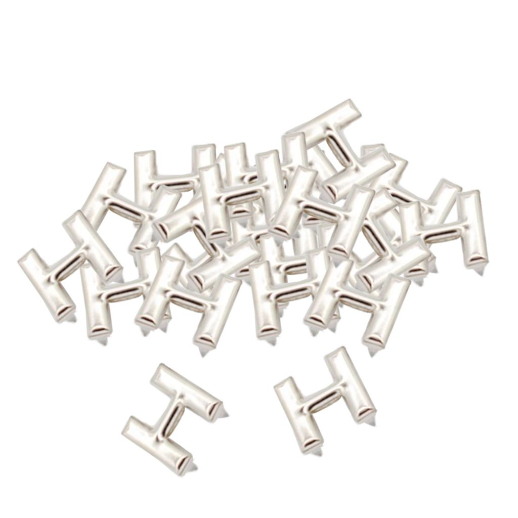 30 Set Nieten Ziernieten Ledernieten Nieten Druckknöpfe Schmucknieten