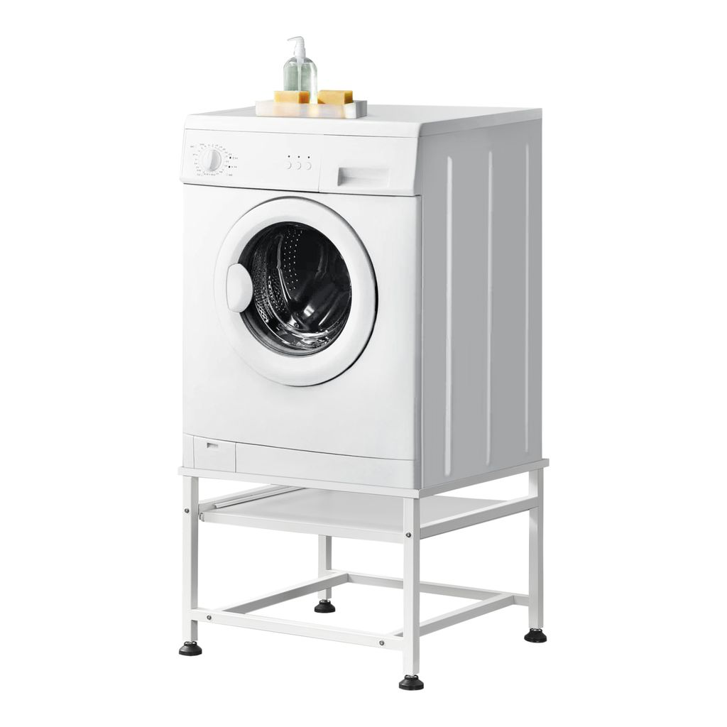 Podeste /& Rahmen f/ür Waschmaschinen und Trockner H/öhe 29-32cm Einstellbare Waschmaschine-Sockel L/änge//Breite 45-65cm Untergestell Sockel f/ür Geschirrsp/üler W/äschetrockner