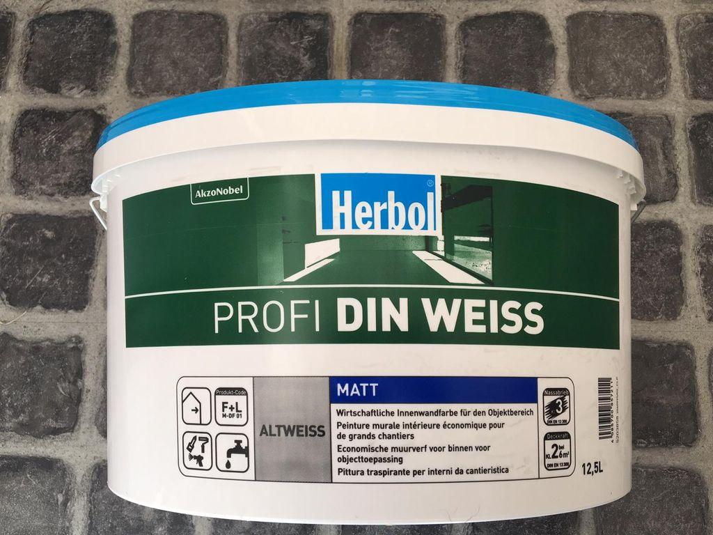 Hb Profi Din Weiss 12 5l Altweiss Kaufland De