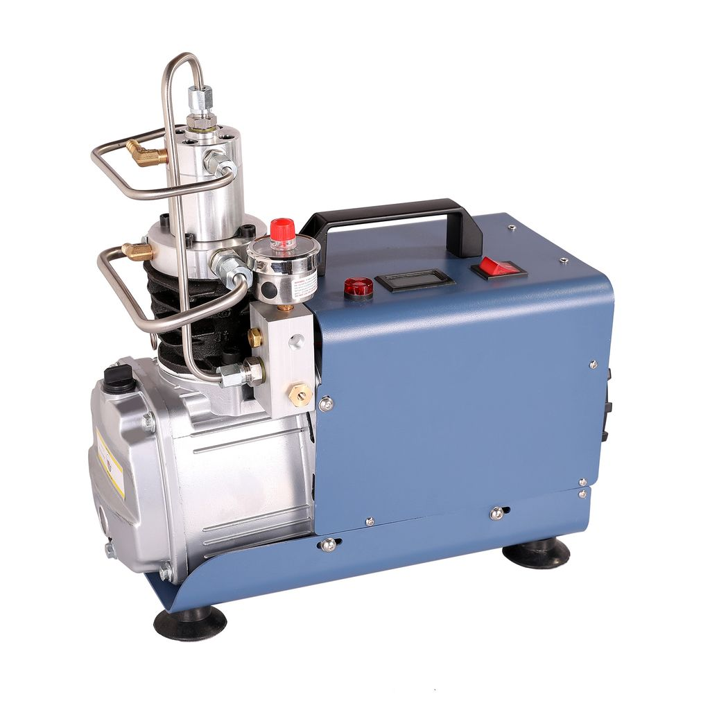 Selbstabschaltung Kompressor PCP Hochdruckluftpumpe Kompressorpumpe Pumpe 1800W 30MPa Auto Stop 4500PSI