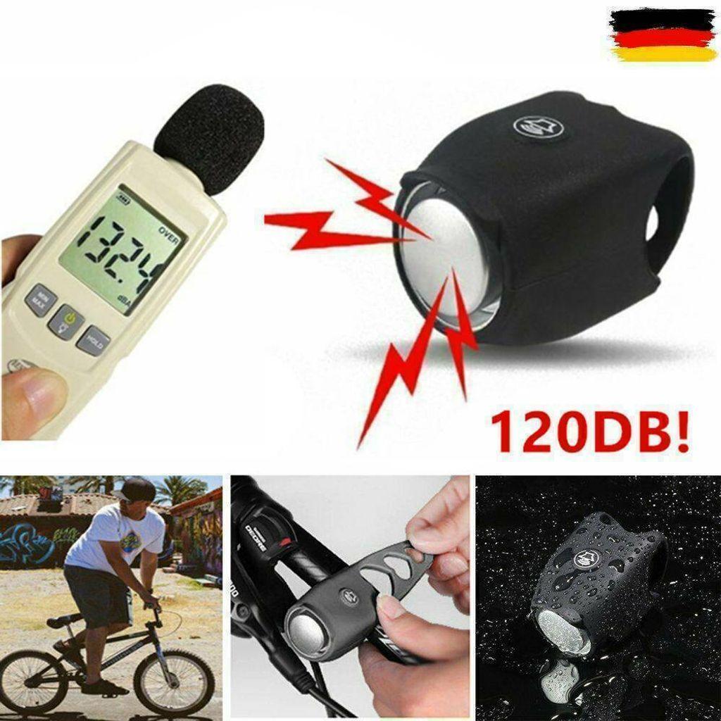 Fahrradklingel 120 Dezibel Doppelglocke Lenkeralarmglocke Heißer Verkauf
