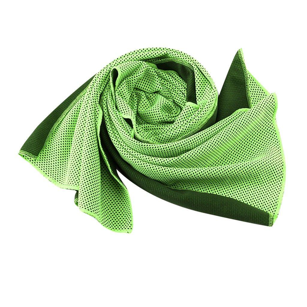 4Pcs Kühltuch Schweißabsorbierende Outdoor-Handtücher Sportbedarf für das