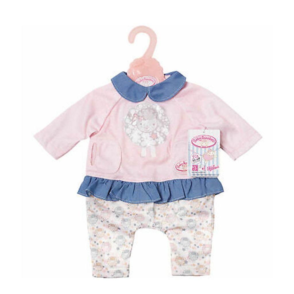 Baby Annabell Pink Blaues Kleid Kaufland De