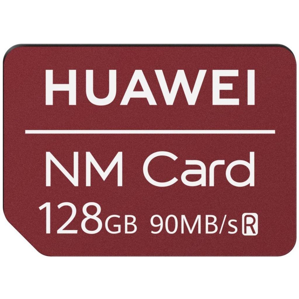 Huawei Nano Memory Card 128GB, Red, 6010396,