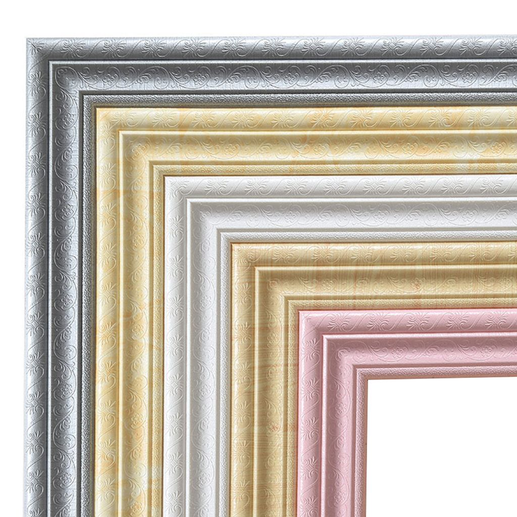 Home 3D selbstklebend Dekor Wandleiste Sockelleiste Wandbild Bordüre Aufkleber