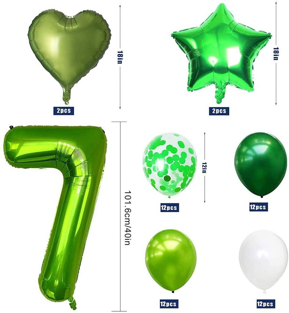 Dino Deko Kindergeburtstag, Luftballon 8.   Kaufland.de