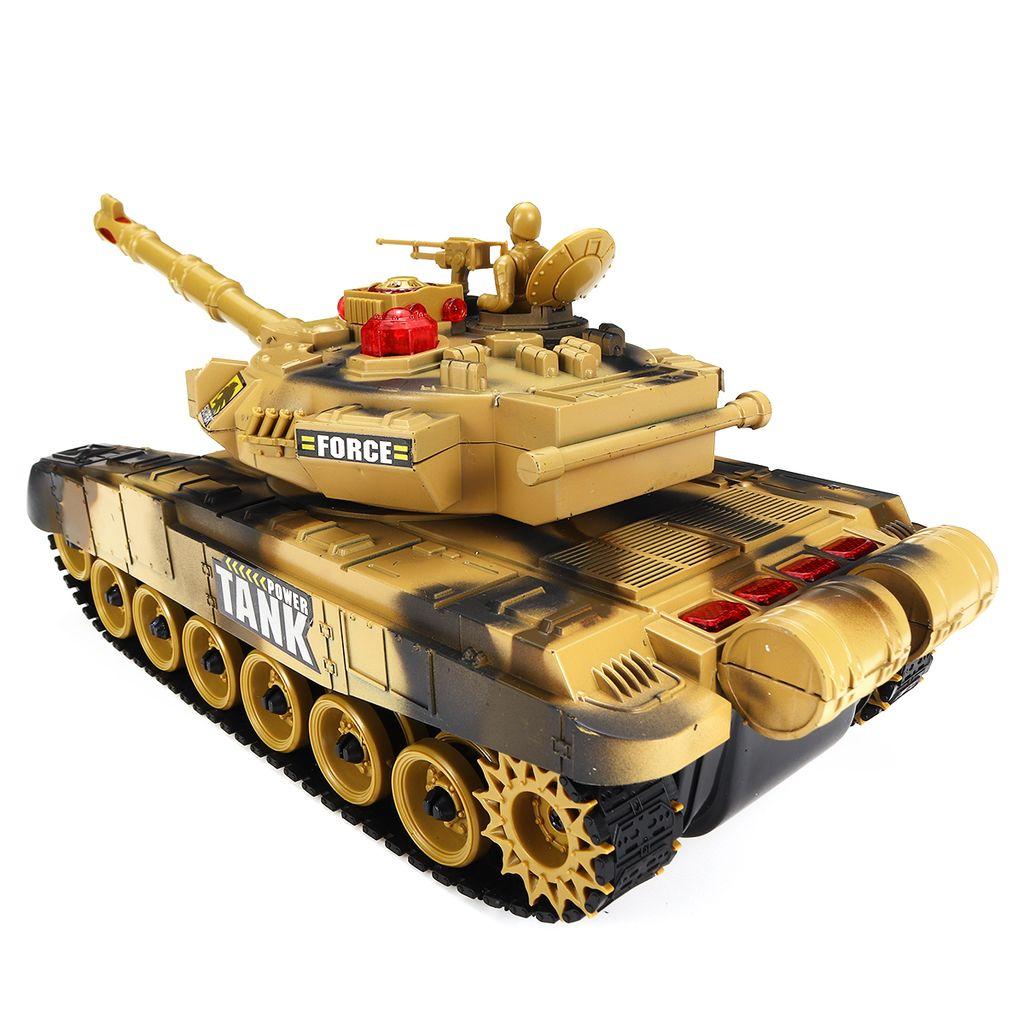 RC Ferngesteuert Militär Tank Kampfpanzer Fahrzeug Spielzeug für Kinder
