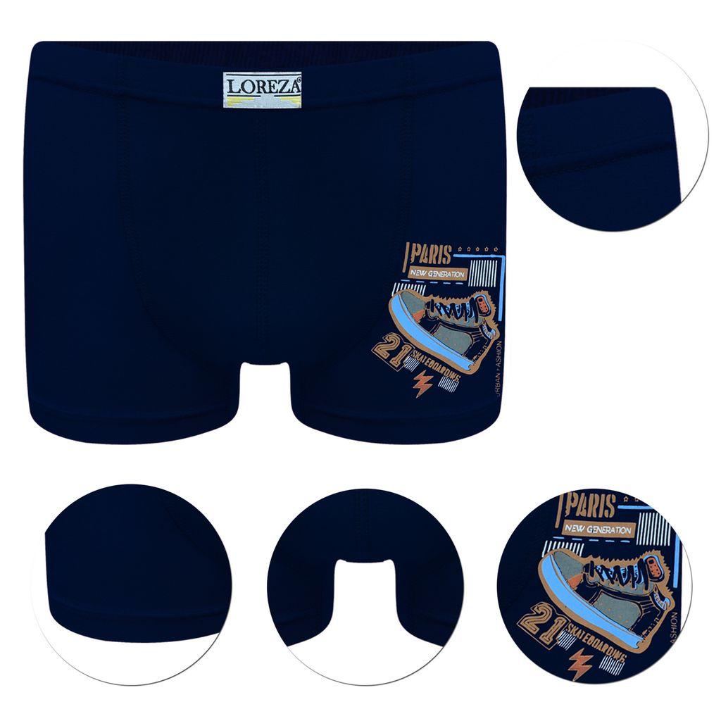gek/ämmte Baumwollmischung 13 Jahre Klassische Boxershorts f/ür Jungen Unterw/äsche 6 und 12 St/ück Designer-Boxershorts 5