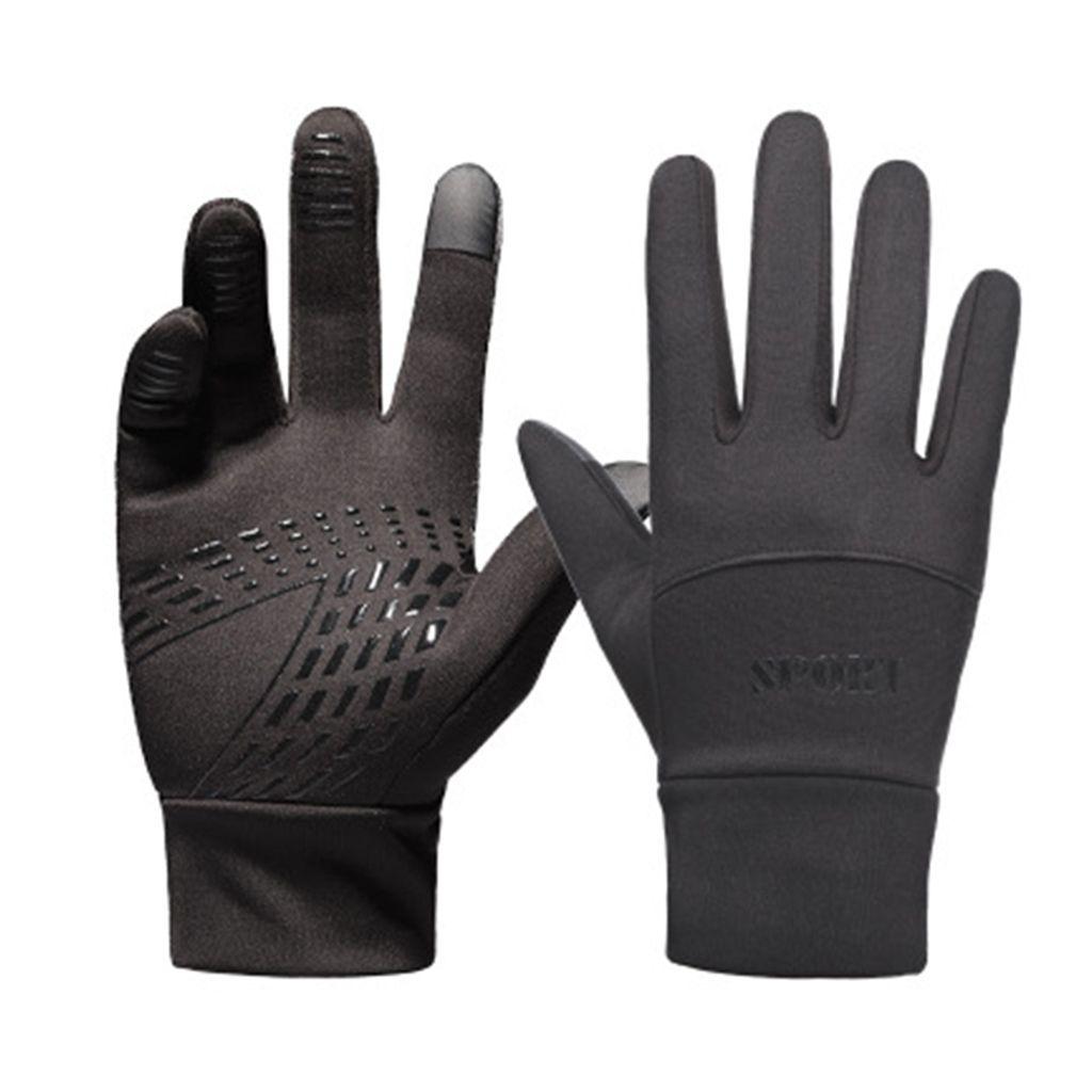 Lauf OZERO Thermo-Handschuhe und Fahrradhandschuhe f/ür Damen und Herren XL Damengr/ö/ße Touchscreen