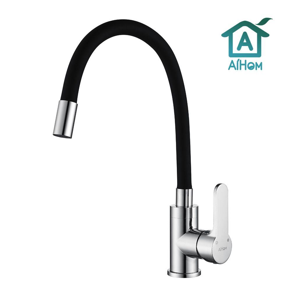 DE Küchenarmatur Wasserhahn Spültischarmatur Einhebelmischer Mischbatterie Küche