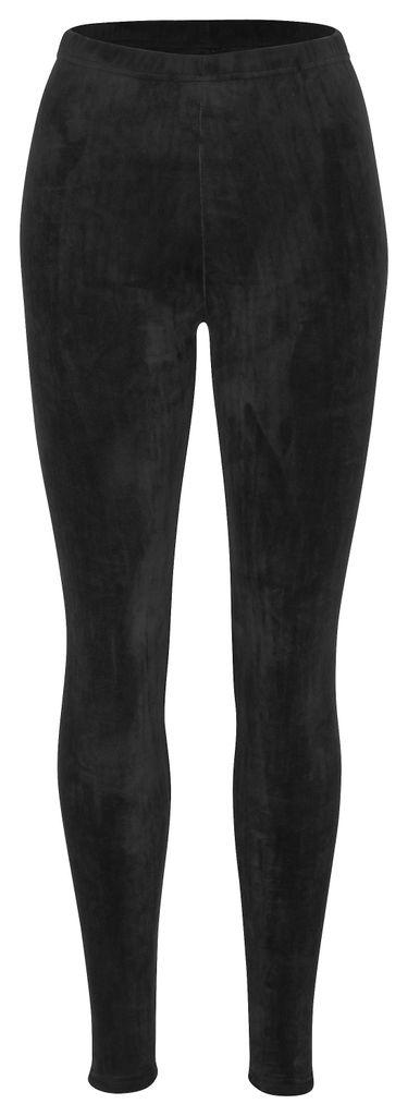 familientrends Thermo Leggings warm gef/üttert Winter Legging M/ädchen Hose kuschel weich 98-158