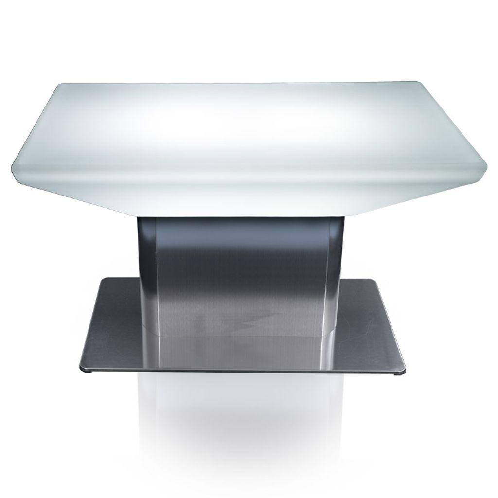 Luminatos WASHINGTON LED Tee Tisch mit Farbwechsel Fernbedienung Akku Betrieb
