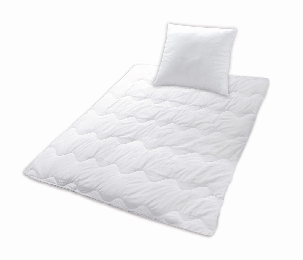 Microfaser Bettenset SLEEP AND DREAM, 12 x 12 cm Bettdecke + 12 x 12 cm  Kopfkissen
