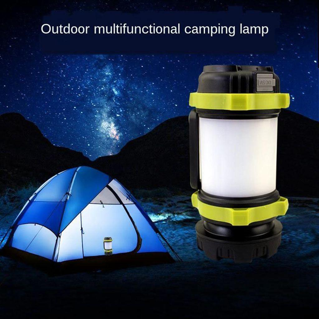 Wasserdicht usb led outdoor camping zelt licht laterne wandern angeln lampe DE