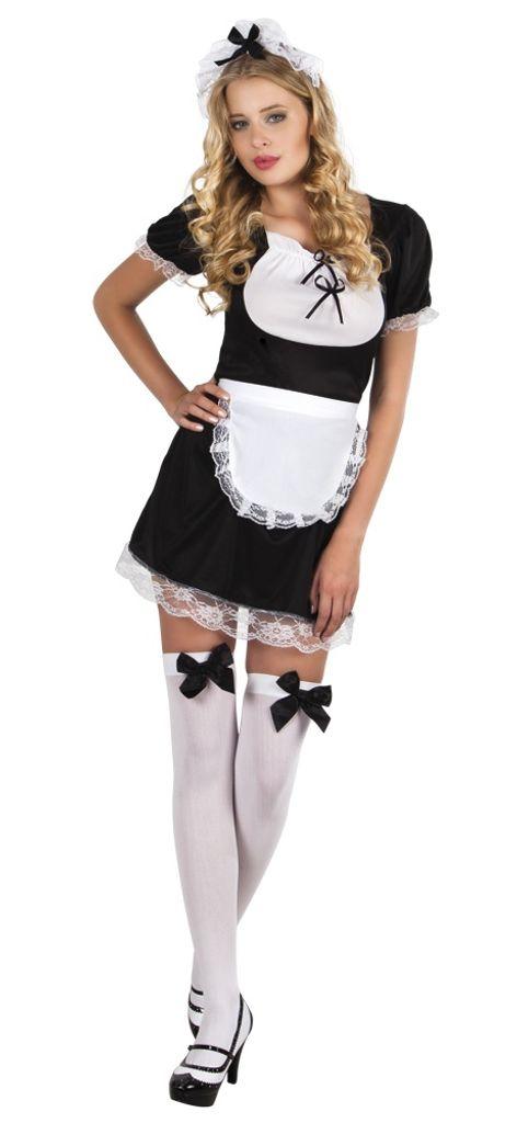Zimmermädchen Aimee Stubenmädchen French Maid Karneval Fasching Kostüm 36-46
