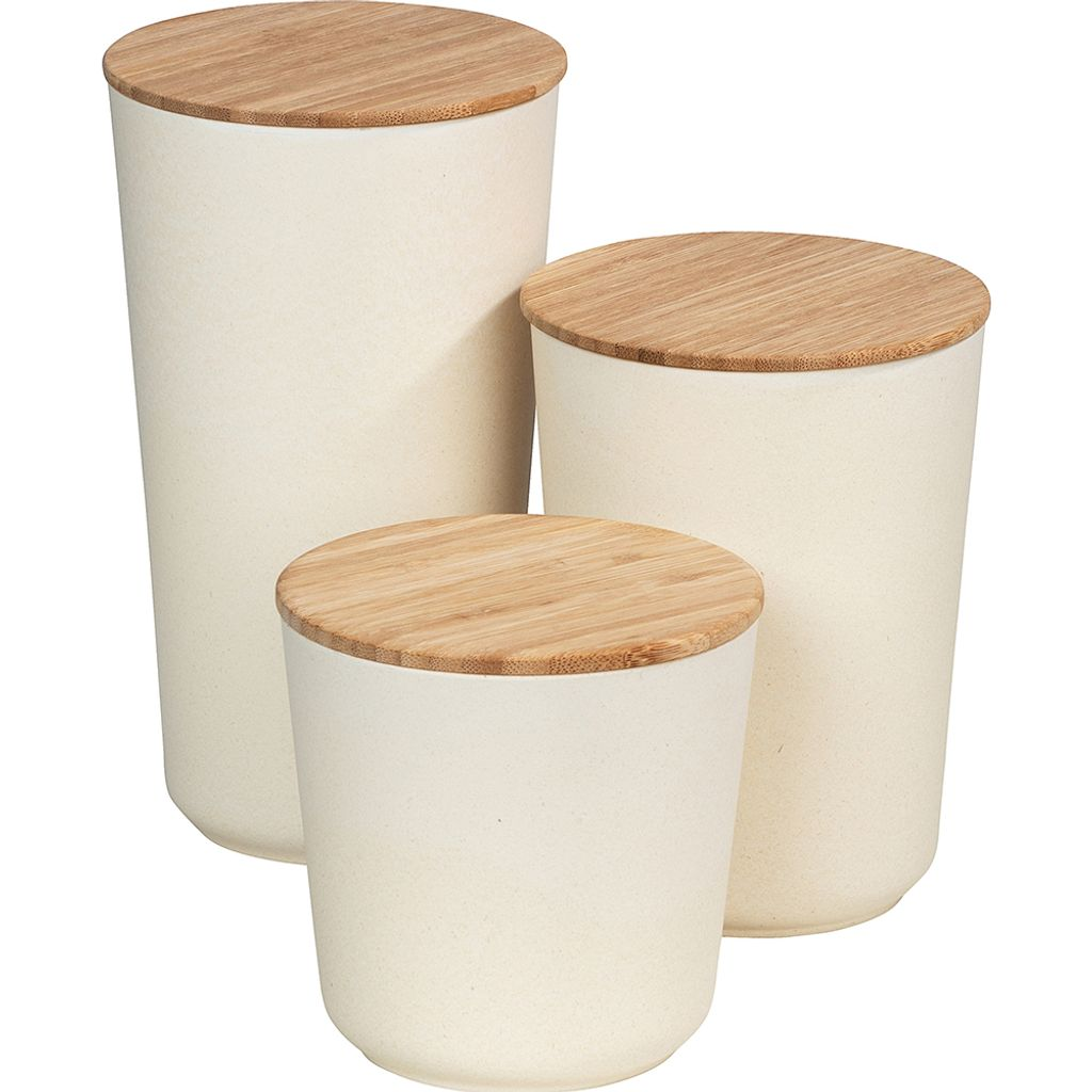 Aufbewahrungsdosen Bondy Bambus 20 teiliges   Kaufland.de