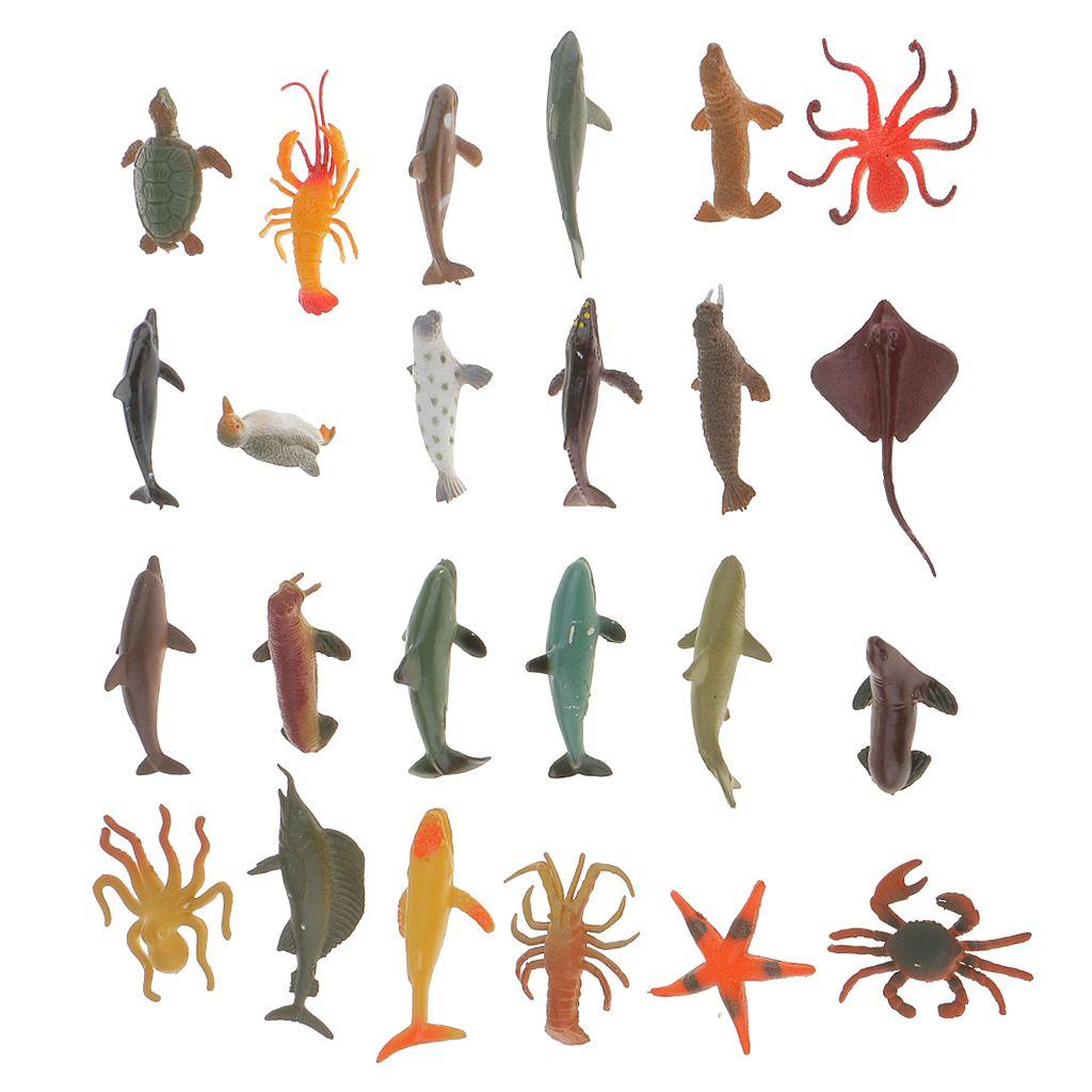 Simulation Wildtier Modell Figur Spielzeug Figur Wohnkultur Tintenfisch L