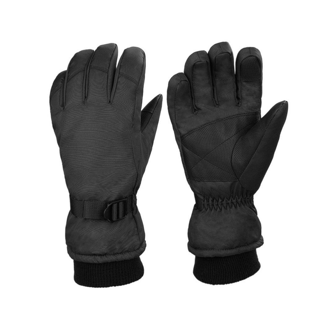 2x wasserdichte herren ski handschuhe winter warme snowboard thermo motorrad
