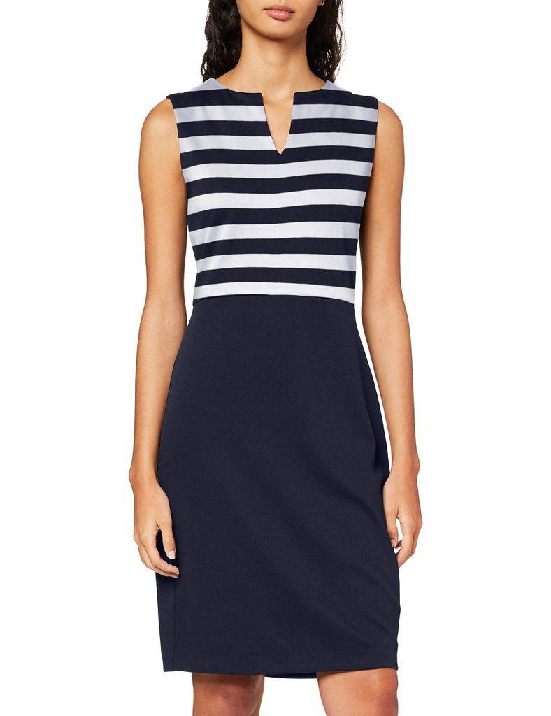 Esprit Collection Kleid Etui gestreift EOE in   Kaufland.de