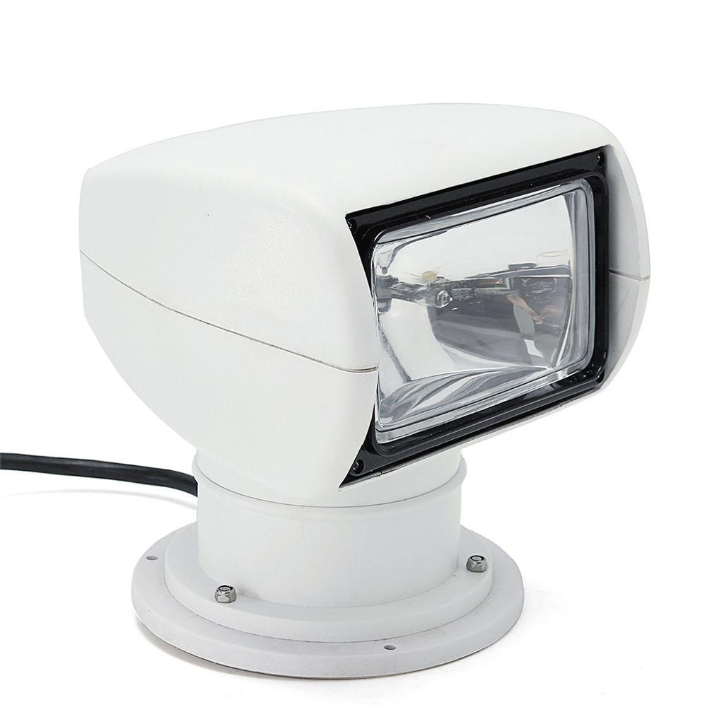 360° Fernbedienung Scheinwerfer Decksleuchte Boot Beleuchtung Suchscheinwerfer