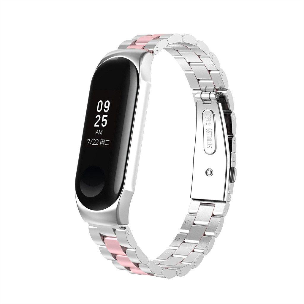 For Xiaomi Mi Band 2 Magnet Edelstahl Luxus Uhrenarmband Metall Wristband