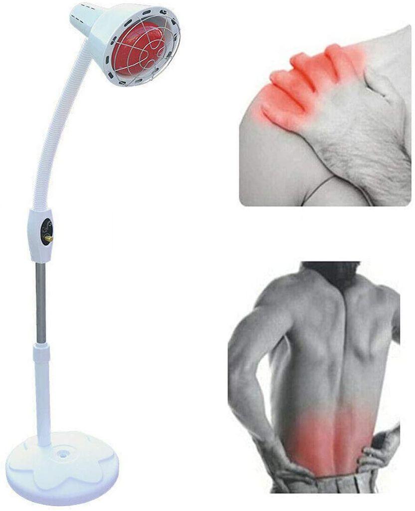 Einkopf Infrarotlampe Wärmelampe Massage Tpielampe Rotlicht Strahler  Infrarot Massagelampe Schönheitssalon