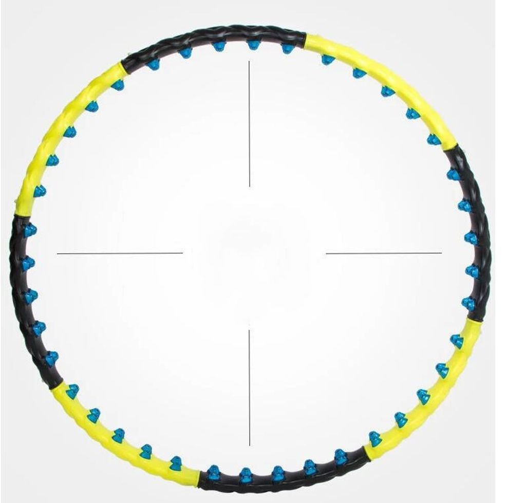 \88//98cm Hula Hoop Fitness Reifen Massagenoppen Magnete 1KG