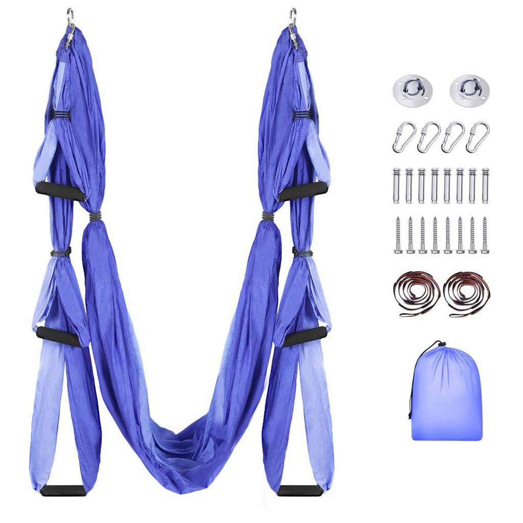 Aerial Yoga Schaukel Yoga Hangematte Set Mit Kaufland De