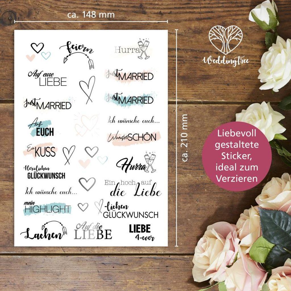 Wünsche gästebuch hochzeit Gästebuch zur