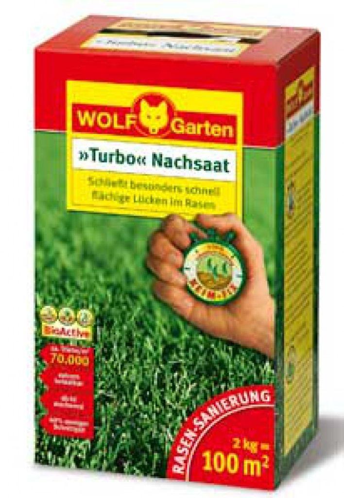 Wolf Garten Turbo Nachsaat LR25 zur Rasen Sanierung für 25m²