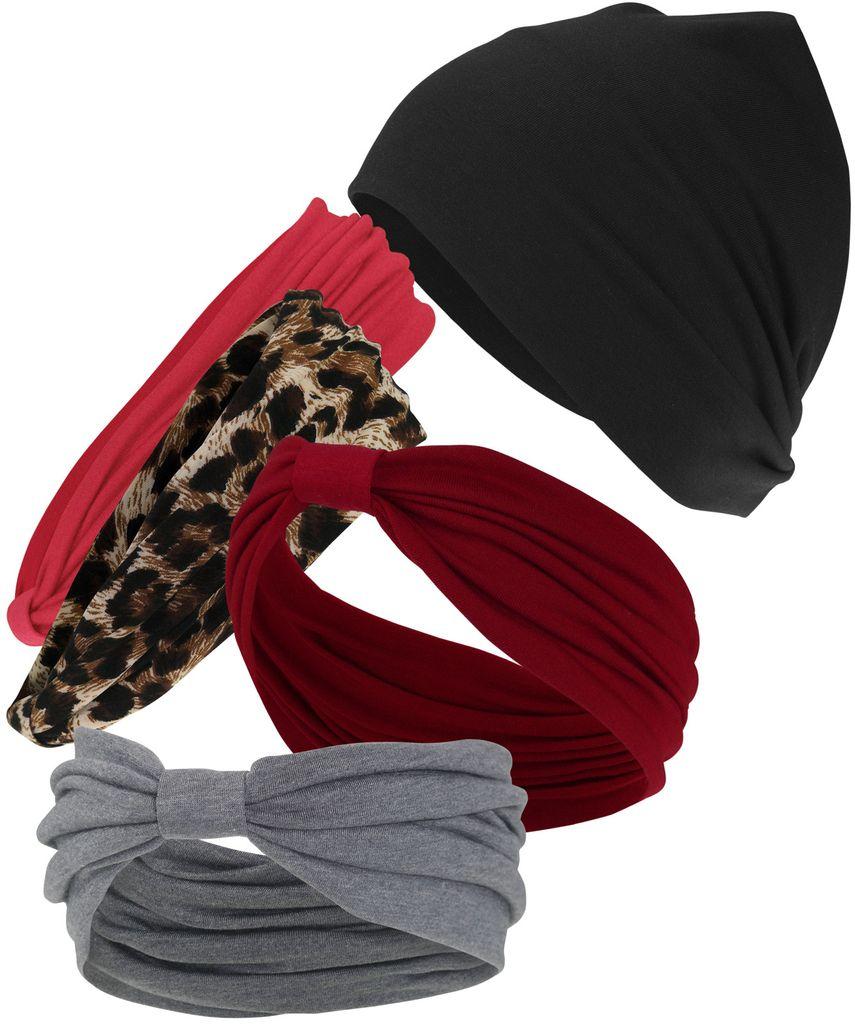 Stirnband  mit für Damen in  4 Farben!