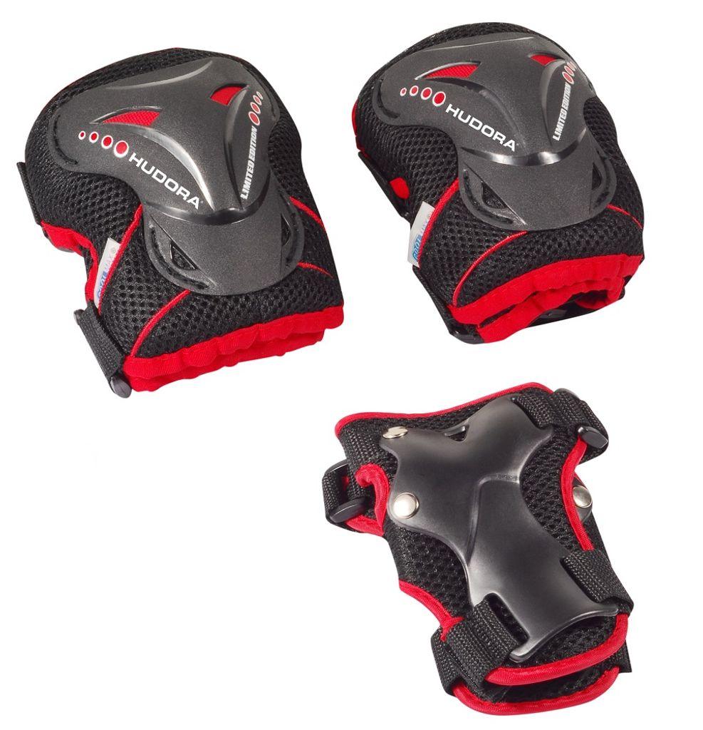 2 Handgelenkpolster Touchmark Protektoren Set Schoner Set f/ür Erwachsene Schutzausr/üstung Set 1 Helm mit 2 Kniepolster 2 Ellbogenpolster