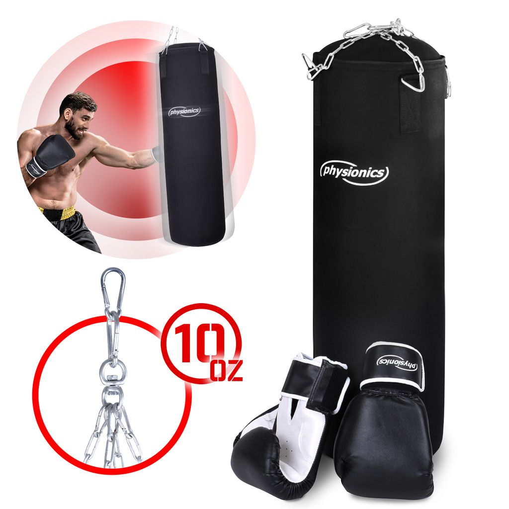160cm Boxsack Set Standboxsack Erwachsene Gefüllt Sandsack Punching Bag Training