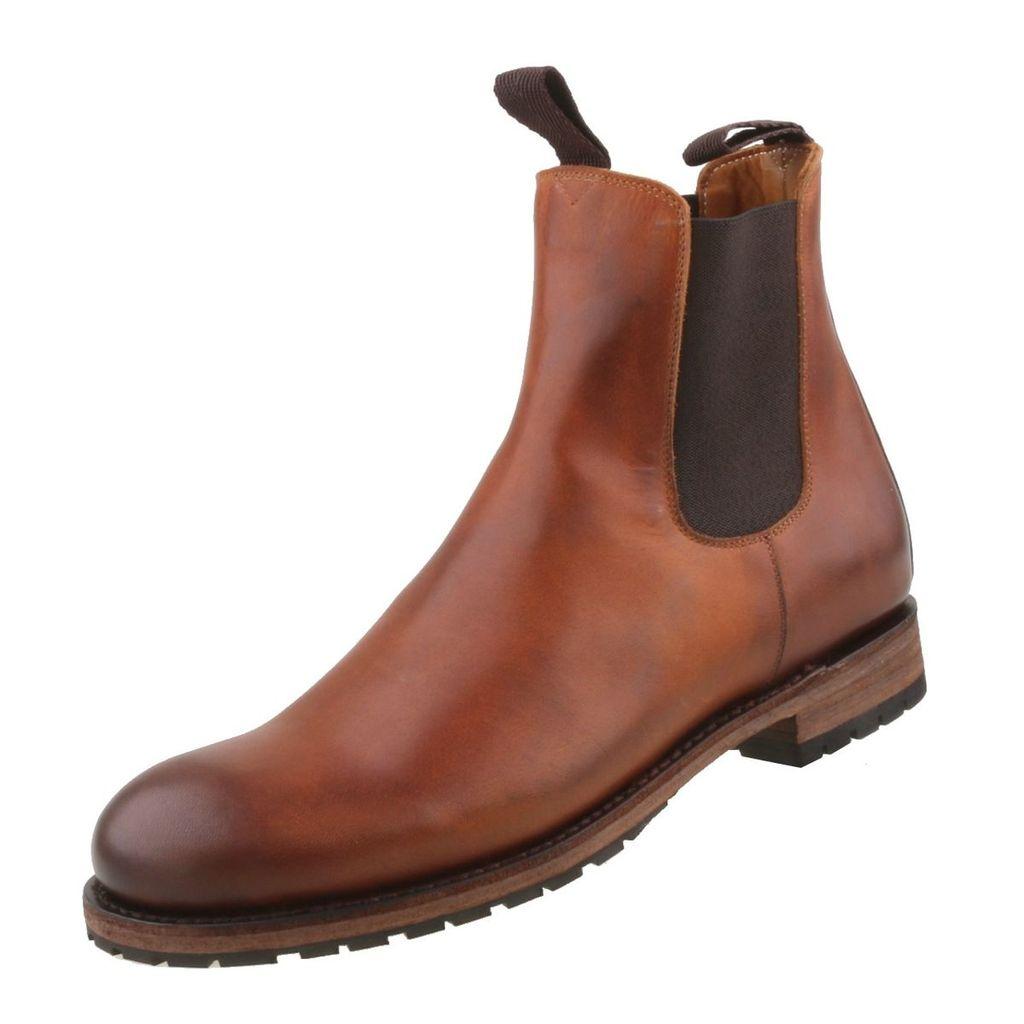 Sendra Boots 5595 Bamby Firenze Chelsea Boots für Herren Chelsea Boots Beige