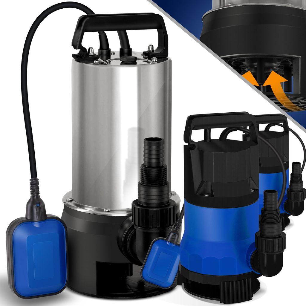 Wasserpumpe Tauchpumpe Schmutzwasserpumpe Gartenpumpe Brunnenpumpe Edelstahl