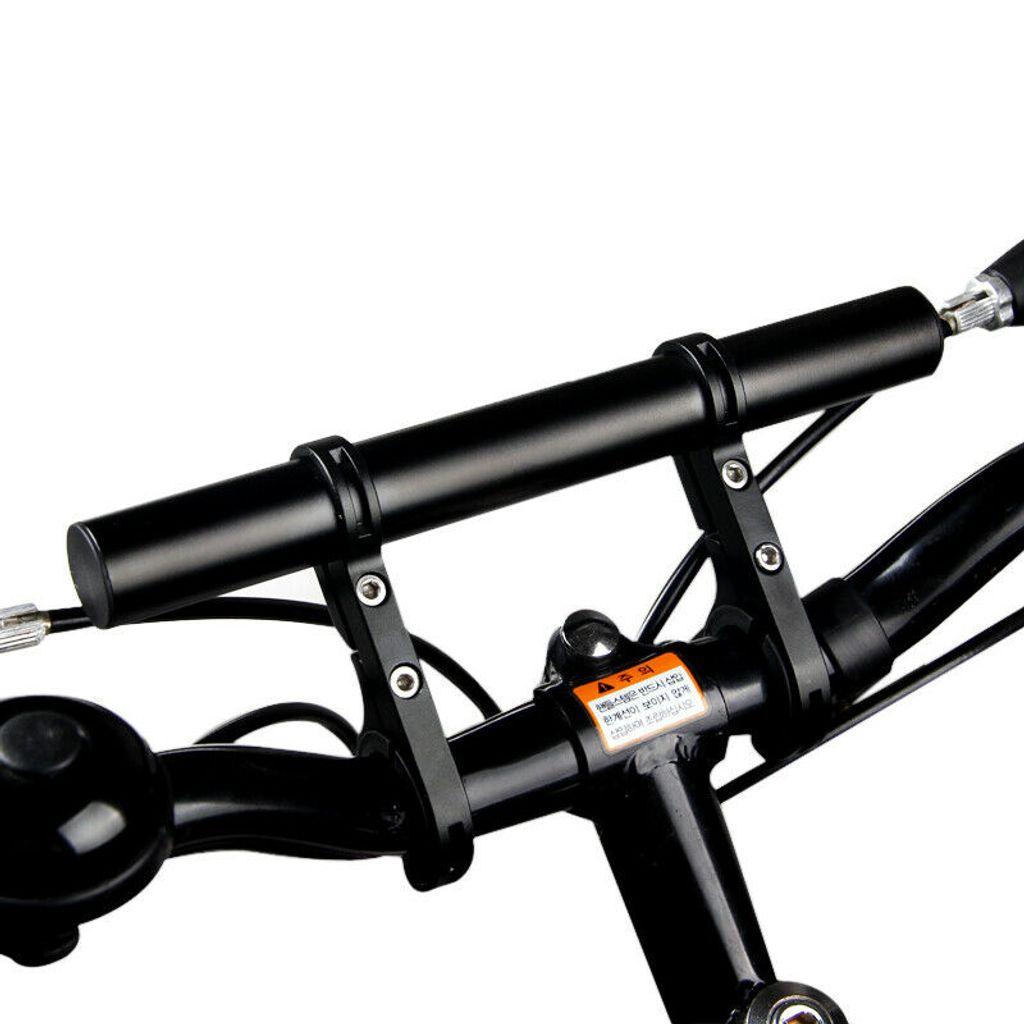 2 Stück Outdoor MTB Fahrrad Lenker Extender Halterung Taschenlampe Halter