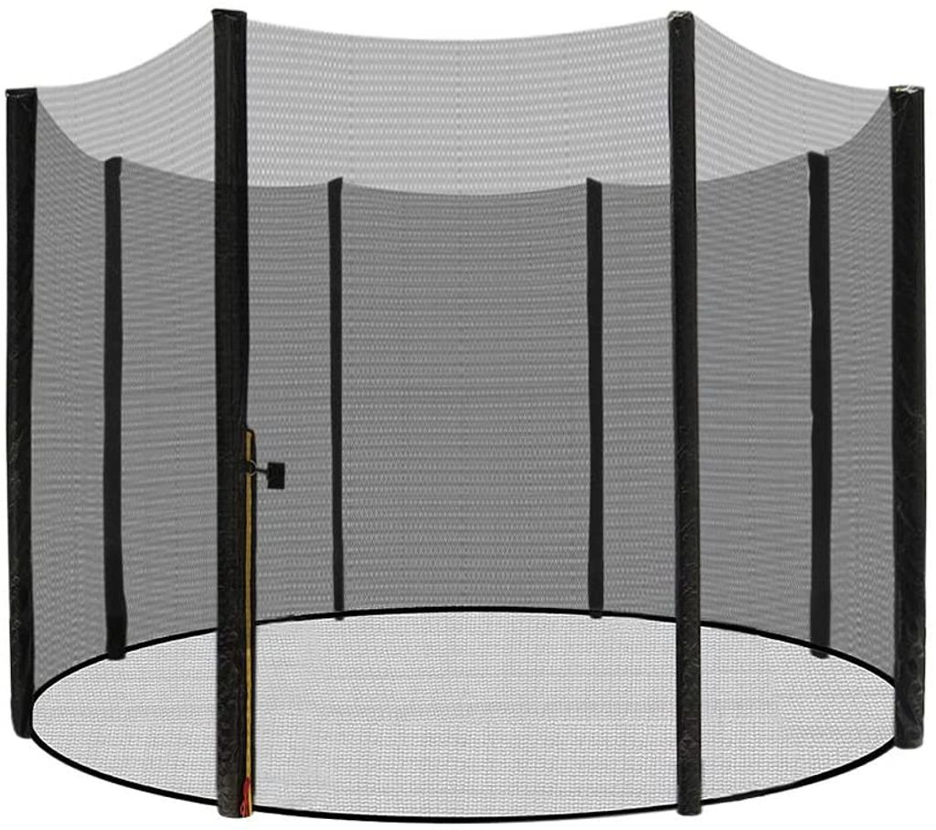 4,27m mit 8 Stangen Fangnetz Trampolinnetz Gigajump® Trampolin Sicherheitsnetz