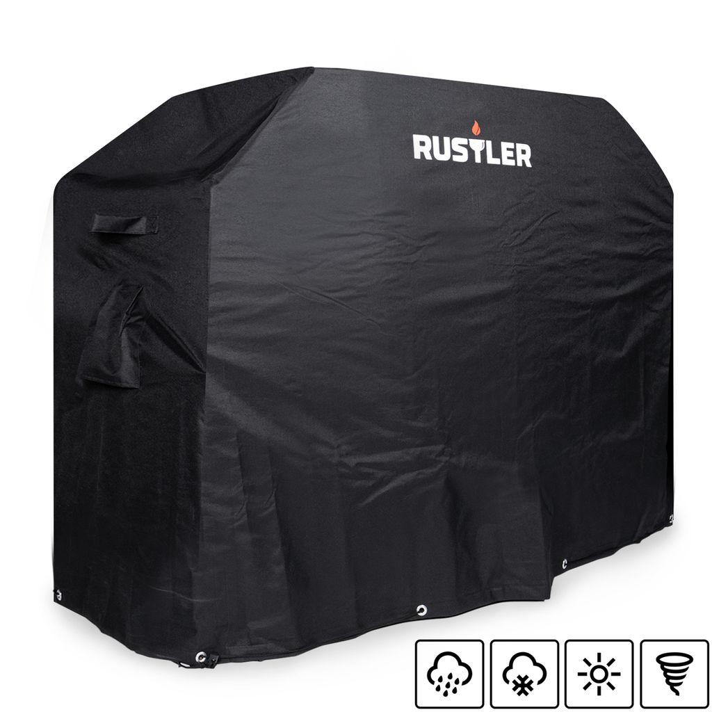 Abdeckung Cover Wetterfest Rustler Barbeque Kugelgrill Schutzh/ülle Wasserdicht Abdeckplane L 92 x 80 x 78 cm Grillzubeh/ör