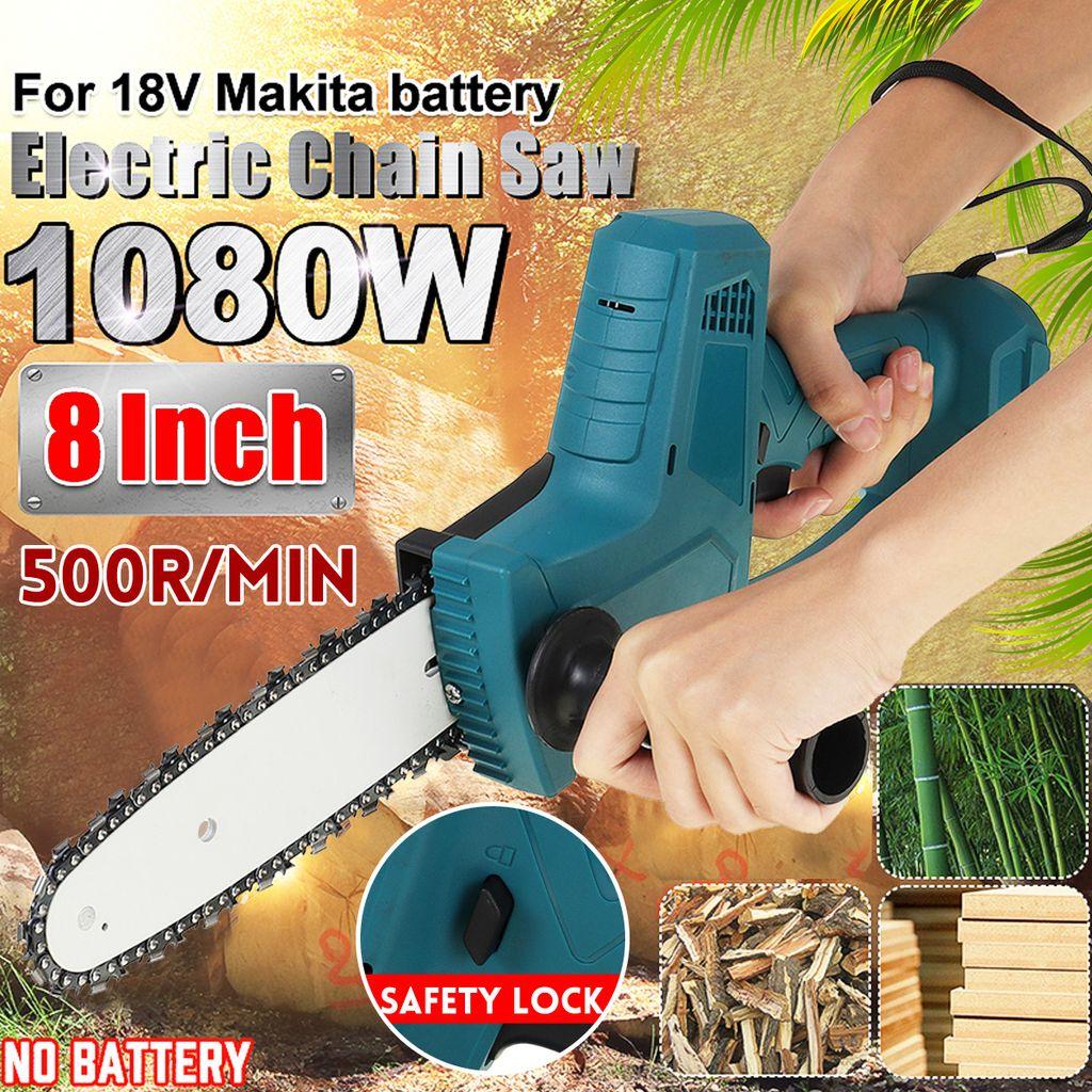 Mini Kettensäge Motorsäge Motorkettensäge Holzsäge Für Makita Batterie,Ohne Akku